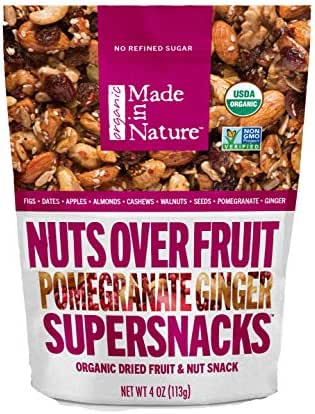 Dried Fruit & Raisins: Made in Nature Nuts Over Fruit Supersnacks
