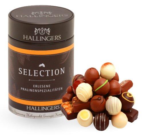 Hallingers Pralinen Selection 150g, 1er Pack (1 x 150 g)