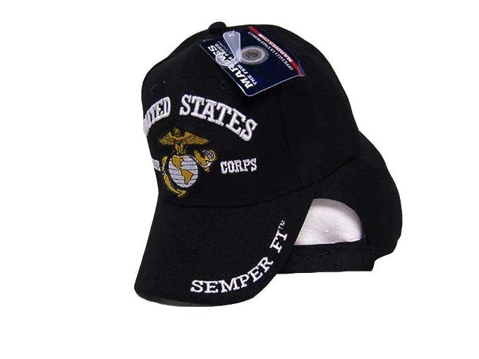 Amazon com: USMC EGA United States Marine Corps Black Semper