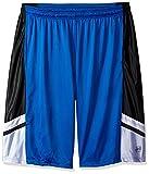 Southpole Men's Big and Tall Basic Basketball Mesh Shorts, Royal, 5XB