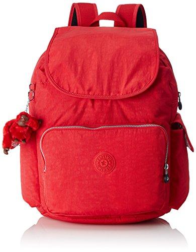 Kipling City Pack L Rucksack, 24 Liter Vibrant Red