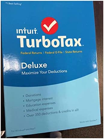 TurboTax Deluxe Federal Buyers Choice