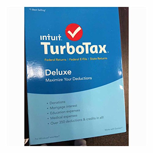 TurboTax Deluxe 2015 Federal + State Taxes + Fed Efile Buyer's Choice