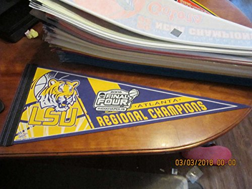 2006 LSU Basketball NCAA Final four Pennant regional champions