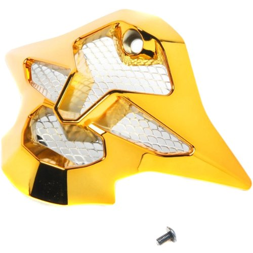 Shoei Mouth Piece VFX-W MX Motorcycle Helmet Accessories - Color: Chrome Gold