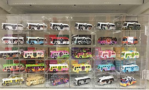 Hot Wheel Arcrylic Display Case 30 or 60 compartments - 1/64 Scale, Model (30 Car Case)