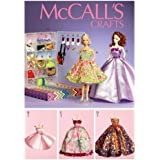 McCall Pattern Company M6903 Clothes and Accessories Sewing Template for 11-1/2-Inch Doll with Display Boxes and Hangers, One Size Only