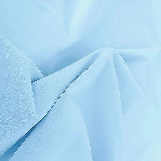 hellblau Baumwoll-Popeline uni 150cm