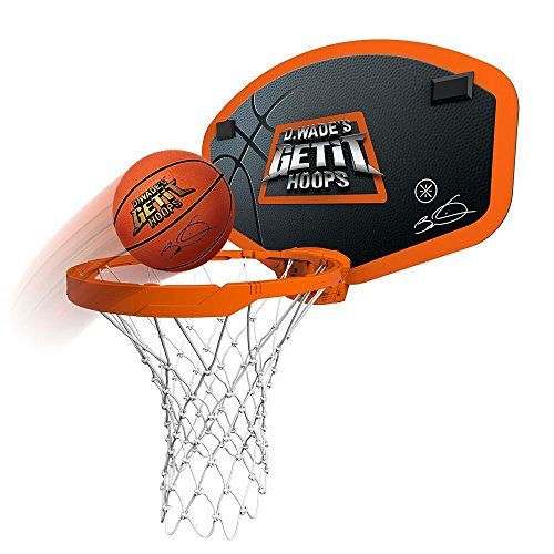 Emson D. Wade's Get It Hoops Indoor Wireless Mini Basketball Hoop - As Seen on TV