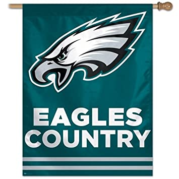 WinCraft Eagles Country 27X37 Banner Flag 49676011