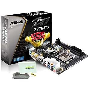 AS Rock LGA1155 DDR3 SATA3 USB3.0 A GbE Mini-ITX Motherboard Z77E-ITX