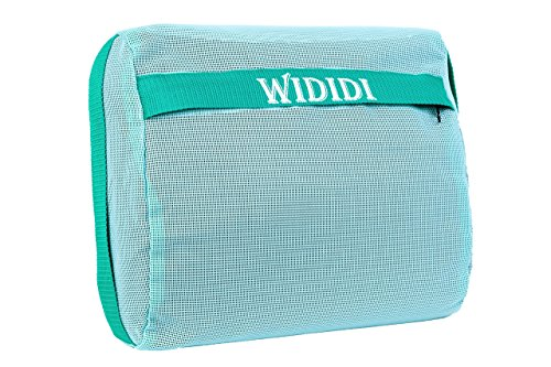 Hot Tub Spa Booster Seat Cushion By Wididi – Jacuzzi Bath Tub Weighted Pillow For Kids & Adults – Comfortable Cushioning – Removable Outside Zippered Cover – Inner Pouch – Mint Green (Tub Pillow Spa Hot)