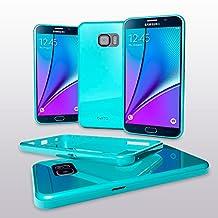 Samsung Note 5 Case - Cellto [Soft Flexible] G IV Case Slim **NEW** [Precision Fit] Premium Flex Soft TPU Case - Retail Eco-Packaging - Thin Case for Samsung Note 5 (2015) - Mint