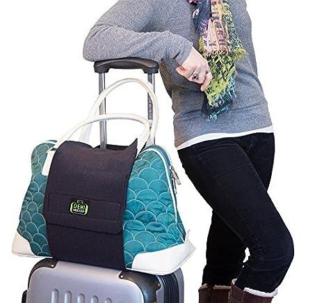 Demi Hugger Travel Luggage Strap Black Demi Innovations DH-001obk