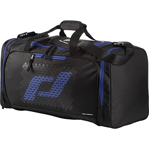 Pro Touch Teambag Force S Sporttasche, Schwarz/Blau, 50 x 26 x 37 cm