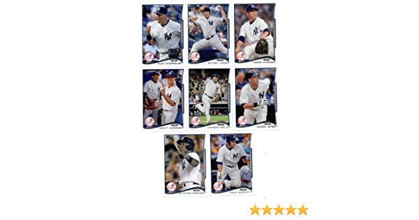 22 Cards 2014 Topps New York Yankees Series 1 /& 2 With Masahiro Tanaka Rookie Card ! Baseball Cards Team Set IN 4-POCKET COLLECTORs ALBUM