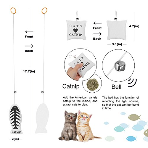 Simply-Me Cat Toys, 20 Pieces Interactive Toys Gift Set for Cats by Simply-Me (Image #3)
