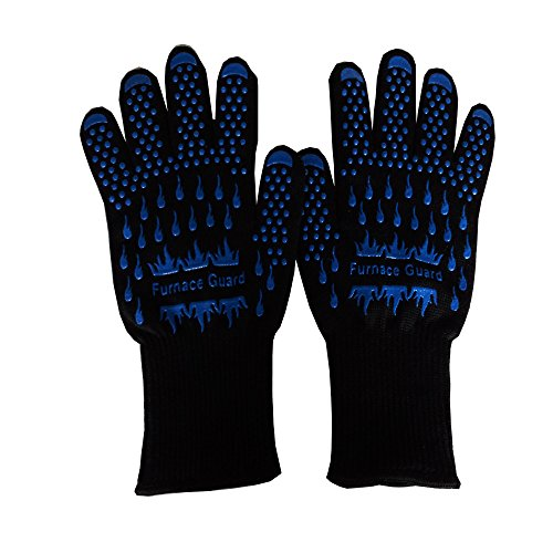 Grill Heat Resistant Cooking Gloves product image