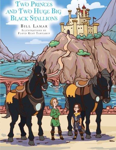 Two Princes and Two Huge Big Black Stallions pdf