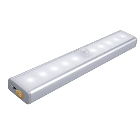 Merveilleux QPAU Rechargeable Closet Light, Stick On Anywhere Cabinet Light Portable  LED Wireless Motion Sensing