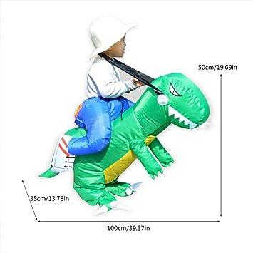 Zerodis- Disfraz de Dinosaurio Hinchable, Dinosaurio Inflable ...