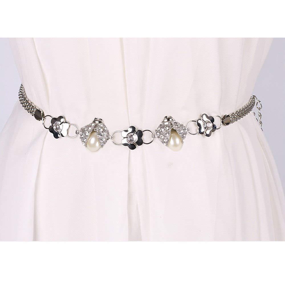 Mink Monk Female Belt Wide Leather Belts for Women Dresses Belt with Rhinestones Chain Belts for Women designercinto Feminino
