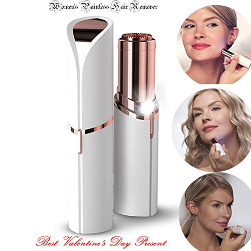 Professional-Hair-Remover-Womens-Painless-Hair-Remover-Rose-Gold-Plated-Epilator-for-Facial-Hair-Removal-Mini
