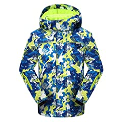 Featuring a waterproof laminate and a lightweight, insulated lining system, the Phibee boy's ski jacket keeps you dry and warm, no matter where your cold-weather adventures take you. Its technology package is just as impressive, dedic...
