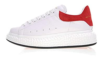 Alexander McQueen Oversized Runner Sole M267 White Red
