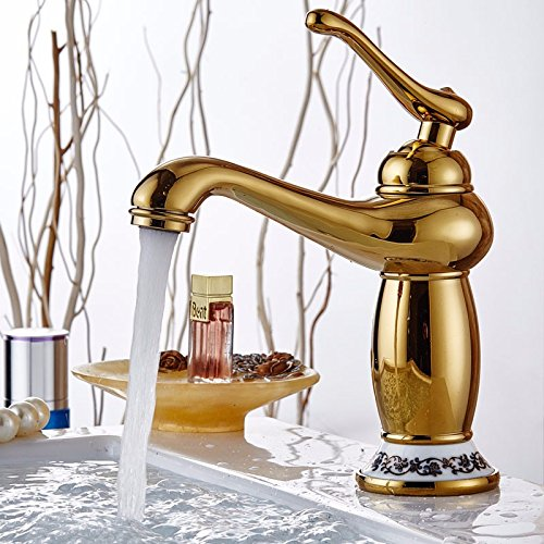 outlet WYMBS Bathroom basin faucet furniture decoration creative gift copper bathroom basin mixer faucet,C