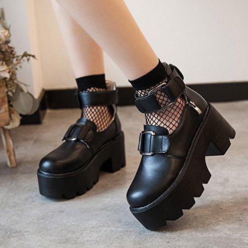 36 Retro Shoes nbsp;womens nbsp; Bottom Agecc Winter nbsp; Good Black Luck Doll Head Ladies Ti Muffin Para XW1P18B