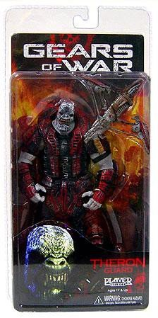 NECA Gears of War Theron Guard (NO Helmet) Series 2 Action Figure (Of War Helmet Gears)