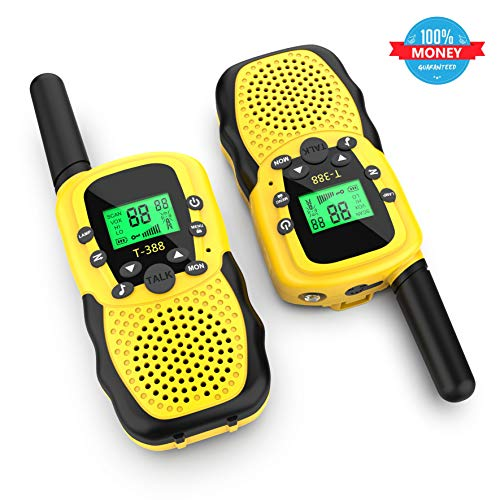 Kids Walkie Talkies for Girls Children Youth Toys for 3-12 Years Old Boys and Girls Gift Birthday Present (DJJ FBA)
