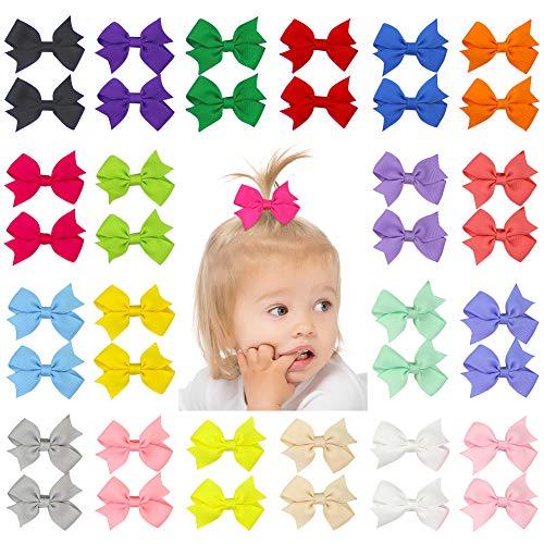 Infant Baby Bows - QtGirl 40pcs 2