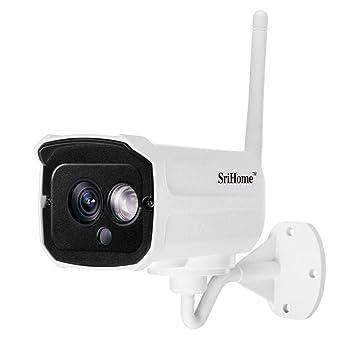 Monitor de Seguridad Cámara Impermeable vigilancia exterior HD1080P Detección de Movimiento IP,Visión nocturna por infrarrojos NVR, detección de movimiento ...