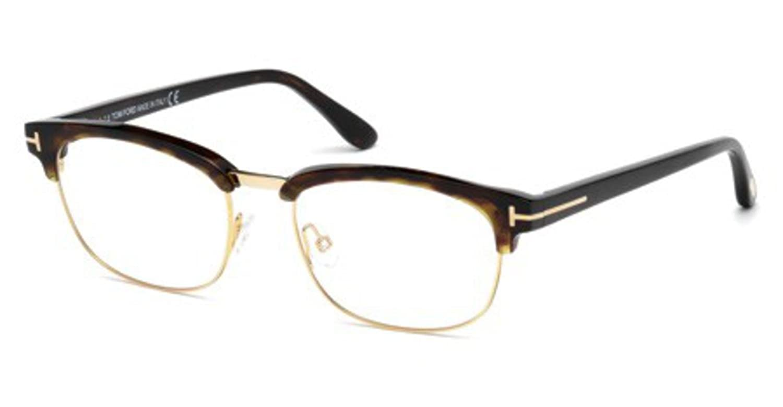 cfb431d4e2e Eyeglasses Tom Ford TF 5458 FT 5458 052 dark havana at Amazon Men s  Clothing store