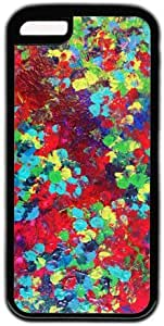 Colorful Painting Art Pattern Theme Iphone 5c Case