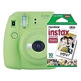 Câmera instantânea Fujifilm Instax Mini 9 Verde Lima + Pack 10 fotos, Fujifilm, INSTAXKIT21L, Verde Lima
