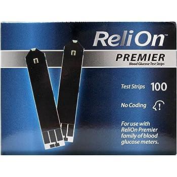 Amazon Com Relion Premier Voice Blood Glucose Monitoring