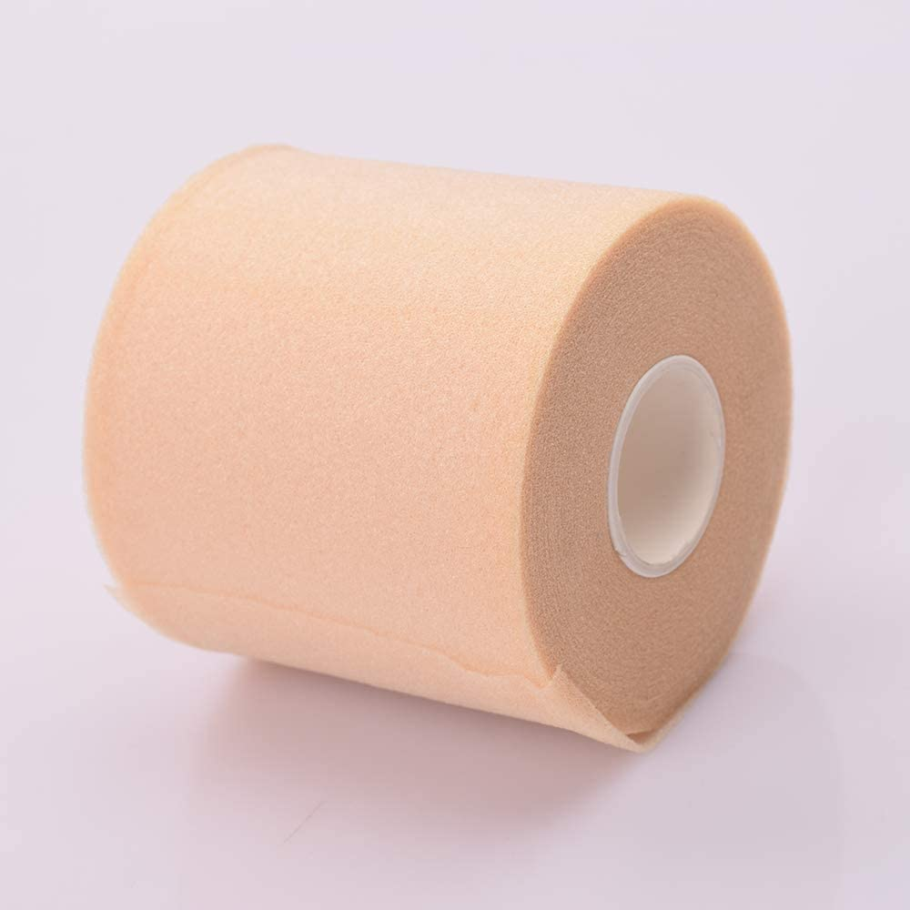 Beher Sports Support Strap 7x27m//Roll Polyester Fiber Sport Physio Therapy Wrap Soft Underwrap Medical Foam Strapping Tape Muscle Tape Kinesiology Tape for Sports Taping