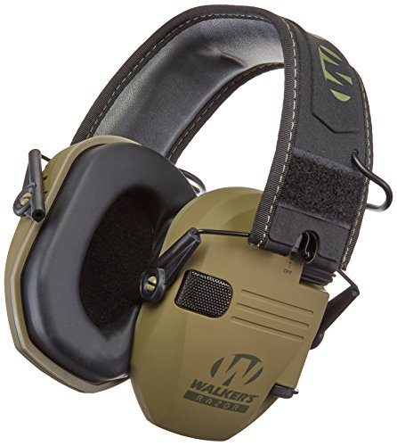 "Walker's Razor Slim Electronic Hearing Protection Muffs with Sound Amplification and Suppression. ""Protect It Or Lose It!"" from Walker's Game Ear"