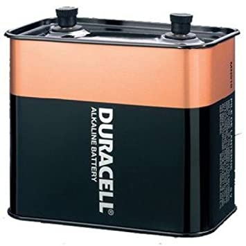 Amazon DURACELL MN 918 6 Volt Alkaline Lantern Battery Health