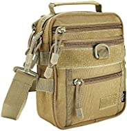 ProCase Tactical Gun Bag, Military Molle Gear Pistol Shoulder Strap Bag Handgun Ammo Accessories Pouch Shootin