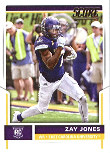 2017 Score #340 Zay Jones East Carolina Pirates Rookie Football Card