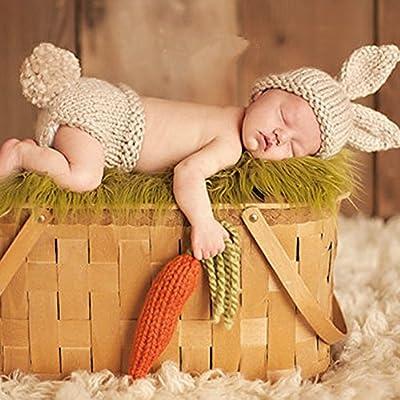 Vivianu - Disfraz de ganchillo para bebé recién nacido: Amazon.es ...
