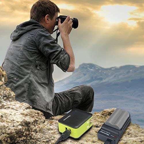 D70 Micro USB Caricabatterie per Nikon EN-EL3e e Nikon D50 D300 D700 Newmowa/® 2x Batteria EN-EL3 D100 D300S D90 D200 D80 D70s