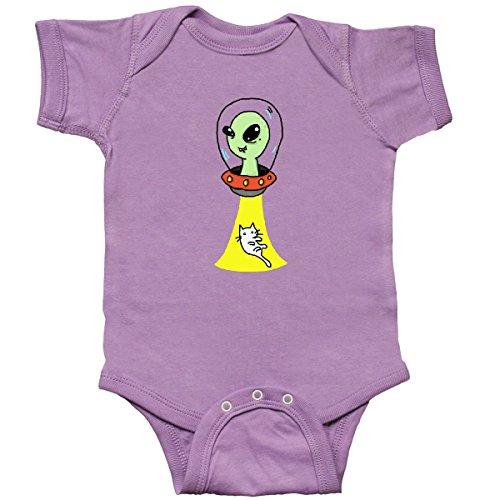 inktastic - Alien Infant Creeper Newborn Lavender - Gus Fink Studios 2ef52