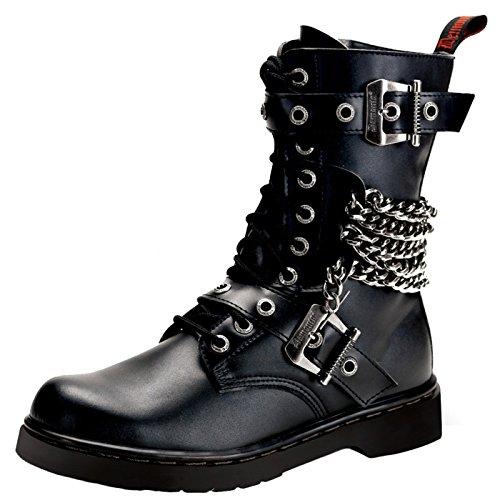 Demonia - Defining Alternative Footware Miniplateau Stiefel Defiant-204