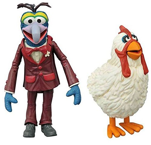 Diamond Select Toys The Muppets: Gonzo & Camilla Multi-Pack Action Figure