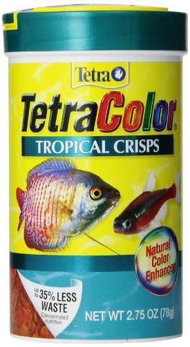 Tetra 77198 TetraColor Tropical Crisps, 2.75-Ounce, 375 ml